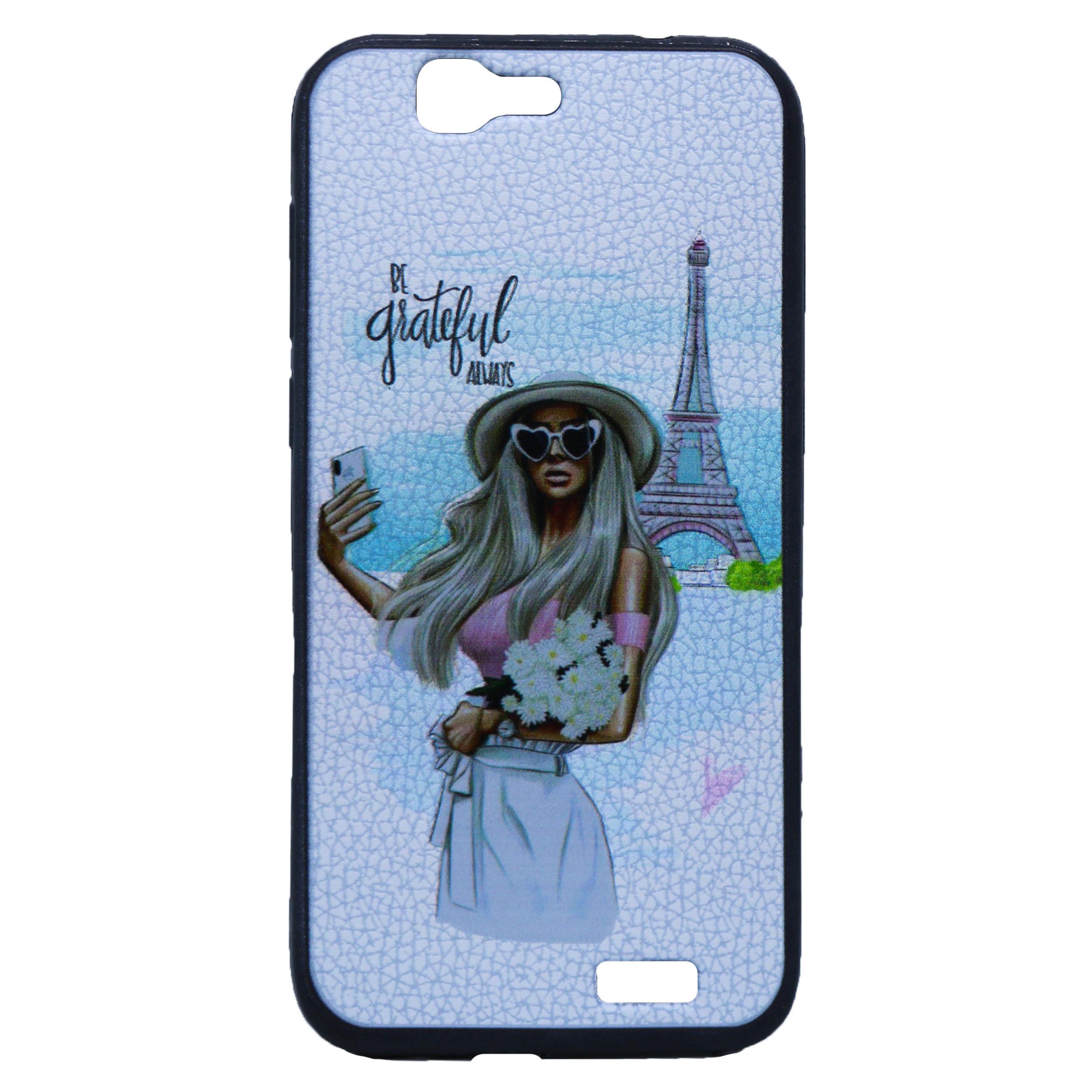 کاور طرح Girl & Cell مدل T-01 مناسب برای گوشی موبایل هوآوی G7 thumb 2 1