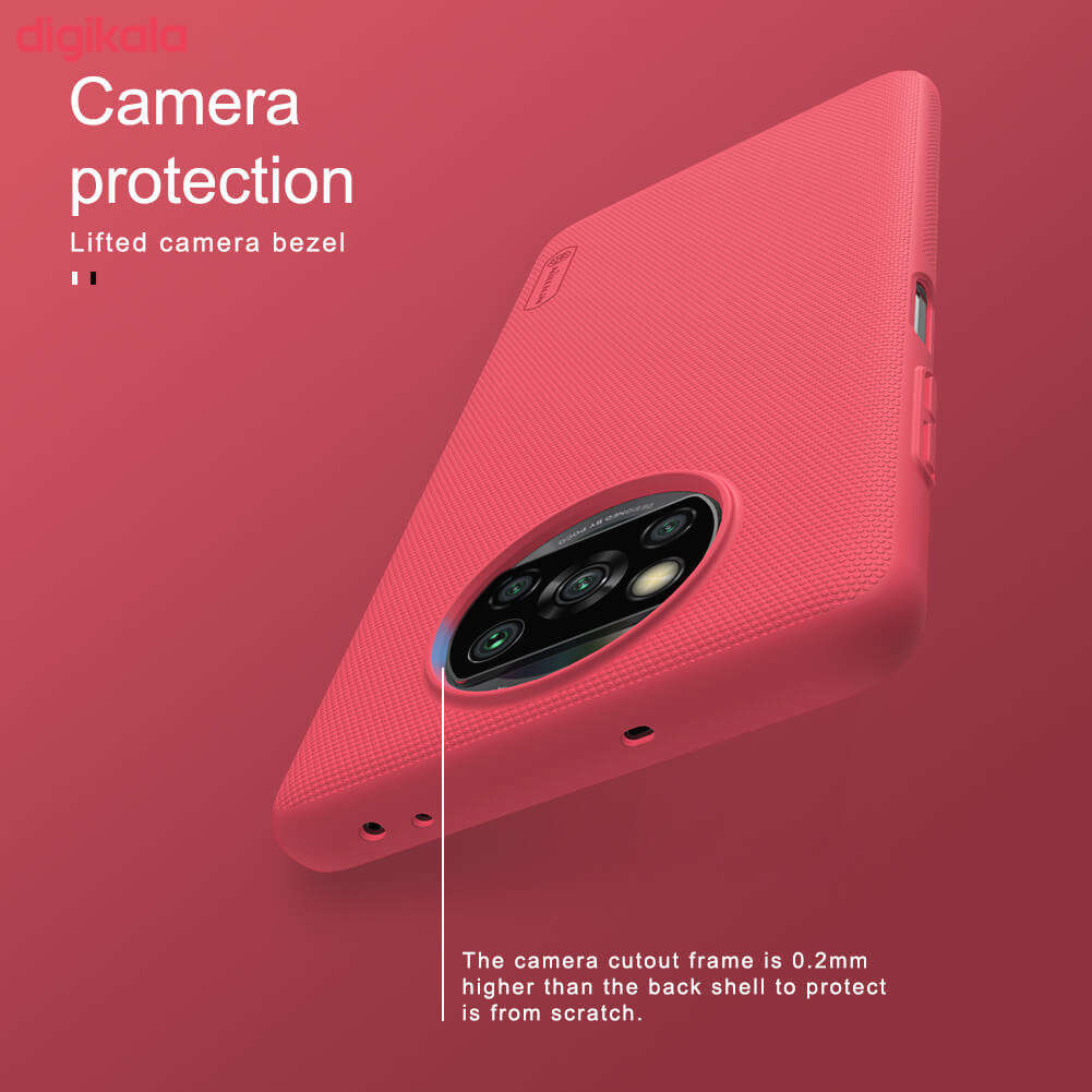 کاور نیلکین مدل Frosted Shield مناسب برای گوشی موبایل شیائومیRedmi Poco X3 NFC main 1 23