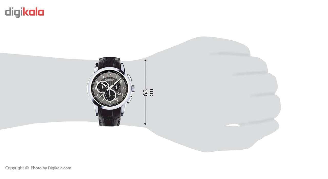 ساعت مچی عقربه ای مردانه آلبرت ریله مدل 505GQ06-SS21A-LB-K1