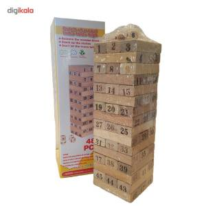 بازی فکری Qiqu مدل جنگا 48 تکه  Qiqu Jenga Intellectual Game