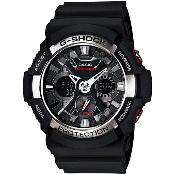 ساعت مچی عقربه ای کاسیو سری جی شاک مدل GA-200-1ADR مناسب برای آقایان