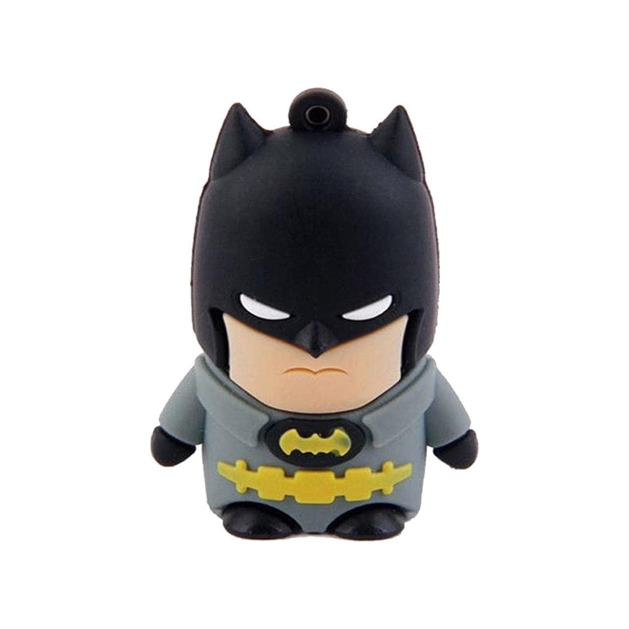 بررسی و {خرید با تخفیف}                                     فلش مموری طرح بت من مدل UL-Batman01 ظرفیت 64 گیگابایت                             اصل