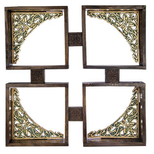 طبقه چوبی گالری آسوریک طرح خشتی