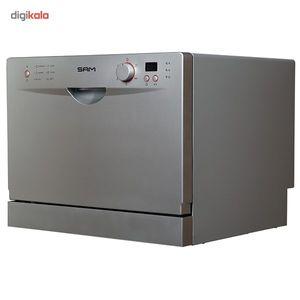 ماشین ظرفشویی رومیزی سام مدل T1309  SAM T1309 Countertop Dishwasher