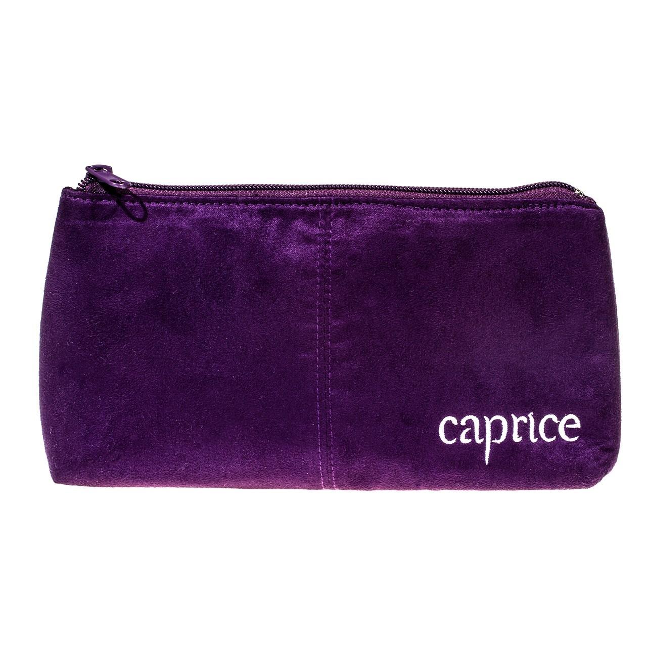 کیف لوازم آرایشی کاپریس مدل Suede Bag
