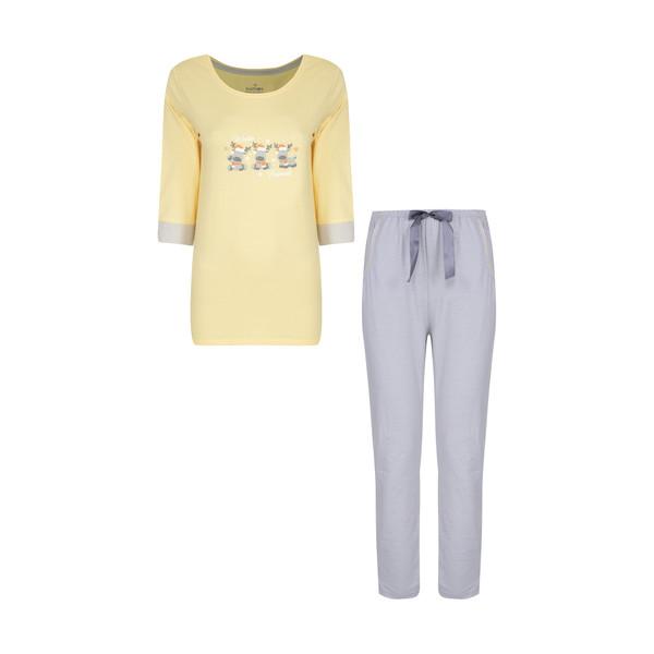 ست تی شرت و شلوار زنانه ناربن مدل 1521451-19
