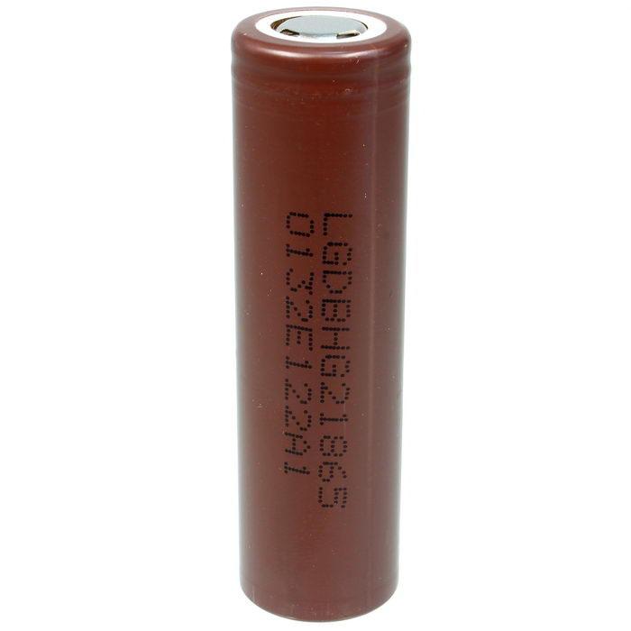 باتری لیتیوم-یون قابل شارژ  مدل LG-DBH ظرفیت 3000 میلی آمپر ساعت