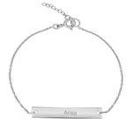 دستبند نقره زنانه ترمه ۱ مدل آریسا کد DN 3072