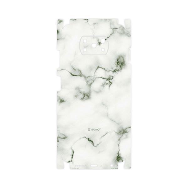 برچسب پوششی ماهوت مدل Blanco-Smoke-Marble-FullSkin مناسب برای گوشی موبایل شیائومی Poco X3 NFC
