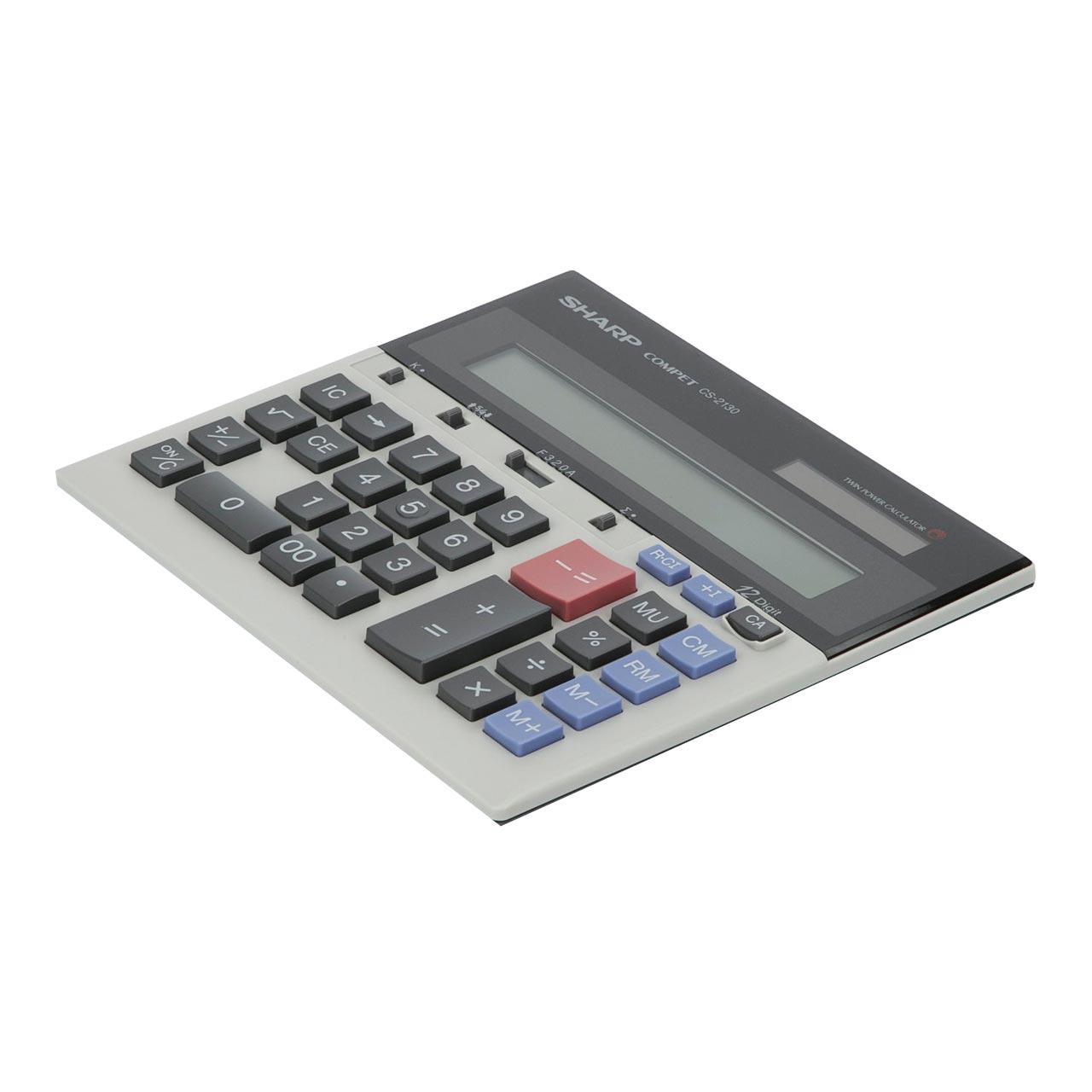 ماشین حساب شارپ کد as-233-ki مدل CS-2130