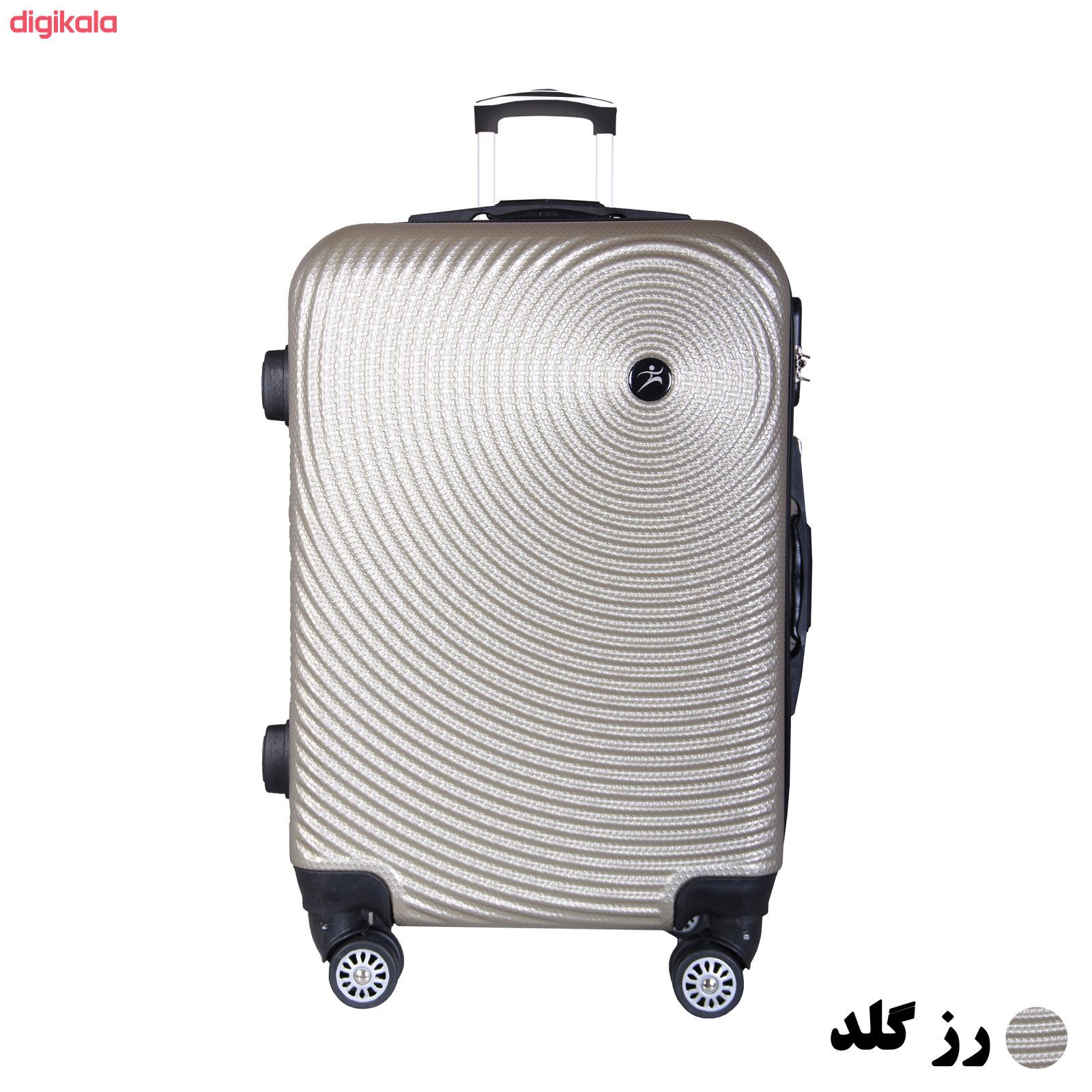 مجموعه چهار عددی چمدان اسپرت من مدل NS001 main 1 7