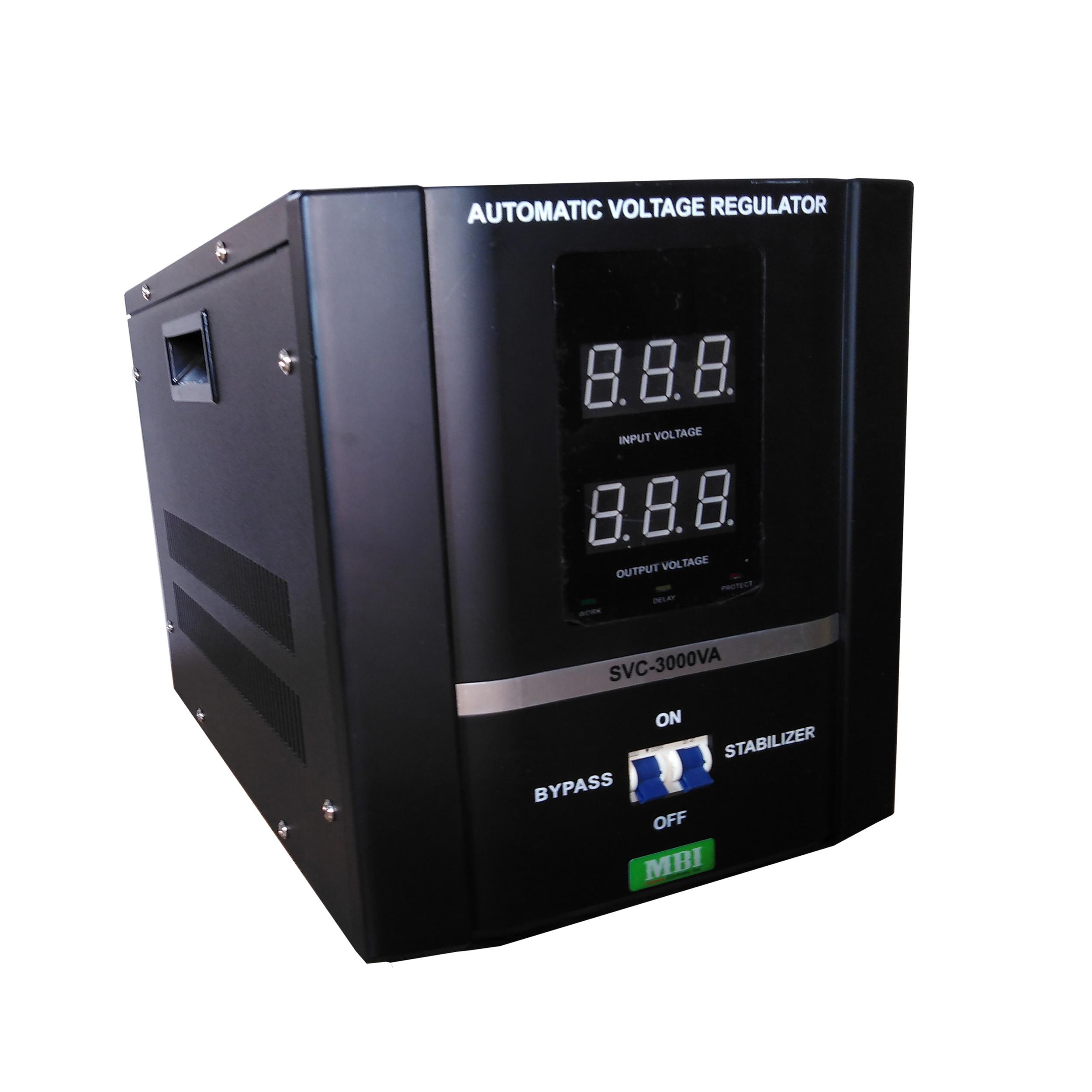 استابلایزر ام بی آی مدل SVC3000 ظرفیت 3000 ولت آمپر