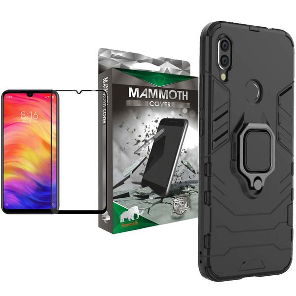 کاور ماموت مدل M-GHB-MGNT مناسب برای گوشی موبایل شیائومی Redmi Note 7 به همراه محافظ صفحه نمایش