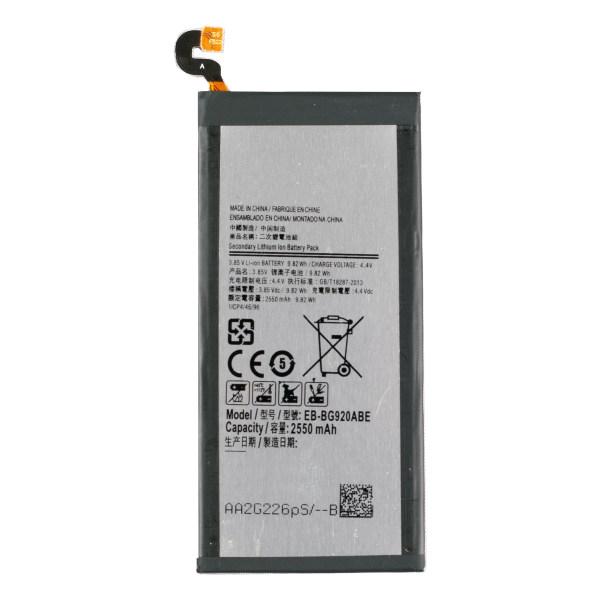 باتری موبایل مدل EB-BG920ABE ظرفیت 2550  میلی آمپرساعت مناسب برای گوشی موبایل سامسونگ  Galaxy S6