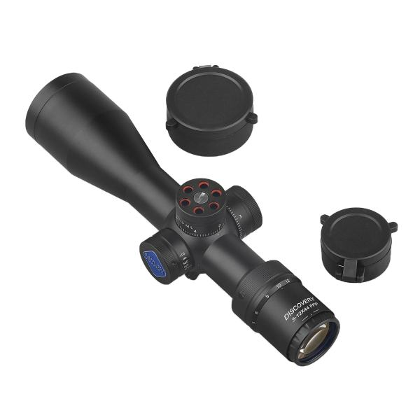 دوربین تفنگ دیسکاوری مدل VT-3 3-12X44 FFP Compact