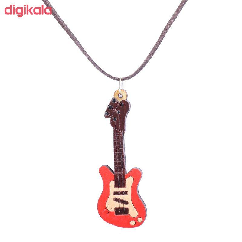 گردنبند طرح گیتار کد 207 main 1 1