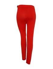 لگینگ زنانه مدل ۱۰۳ رنگ قرمز -  - 3