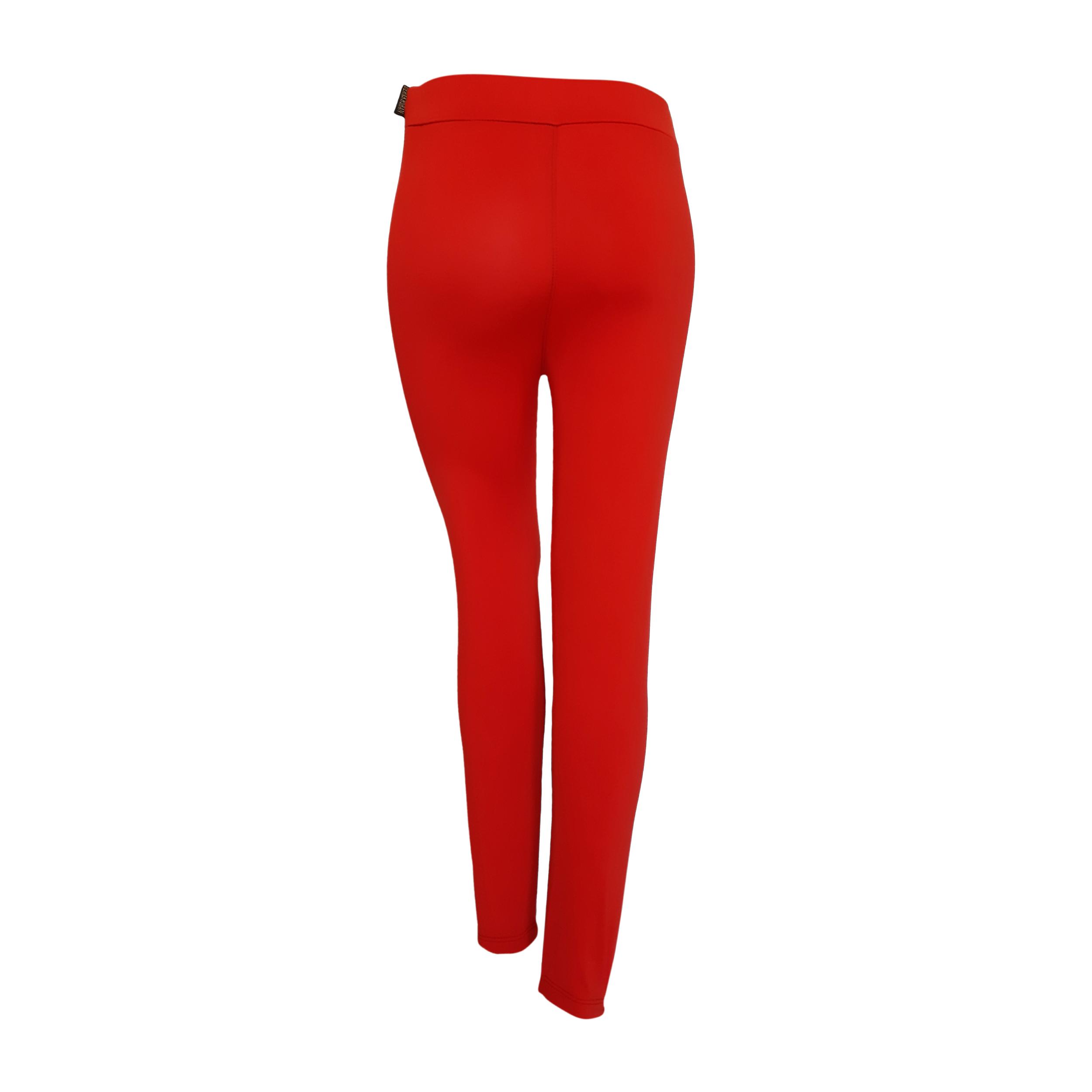 لگینگ زنانه مدل ۱۰۳ رنگ قرمز -  - 4