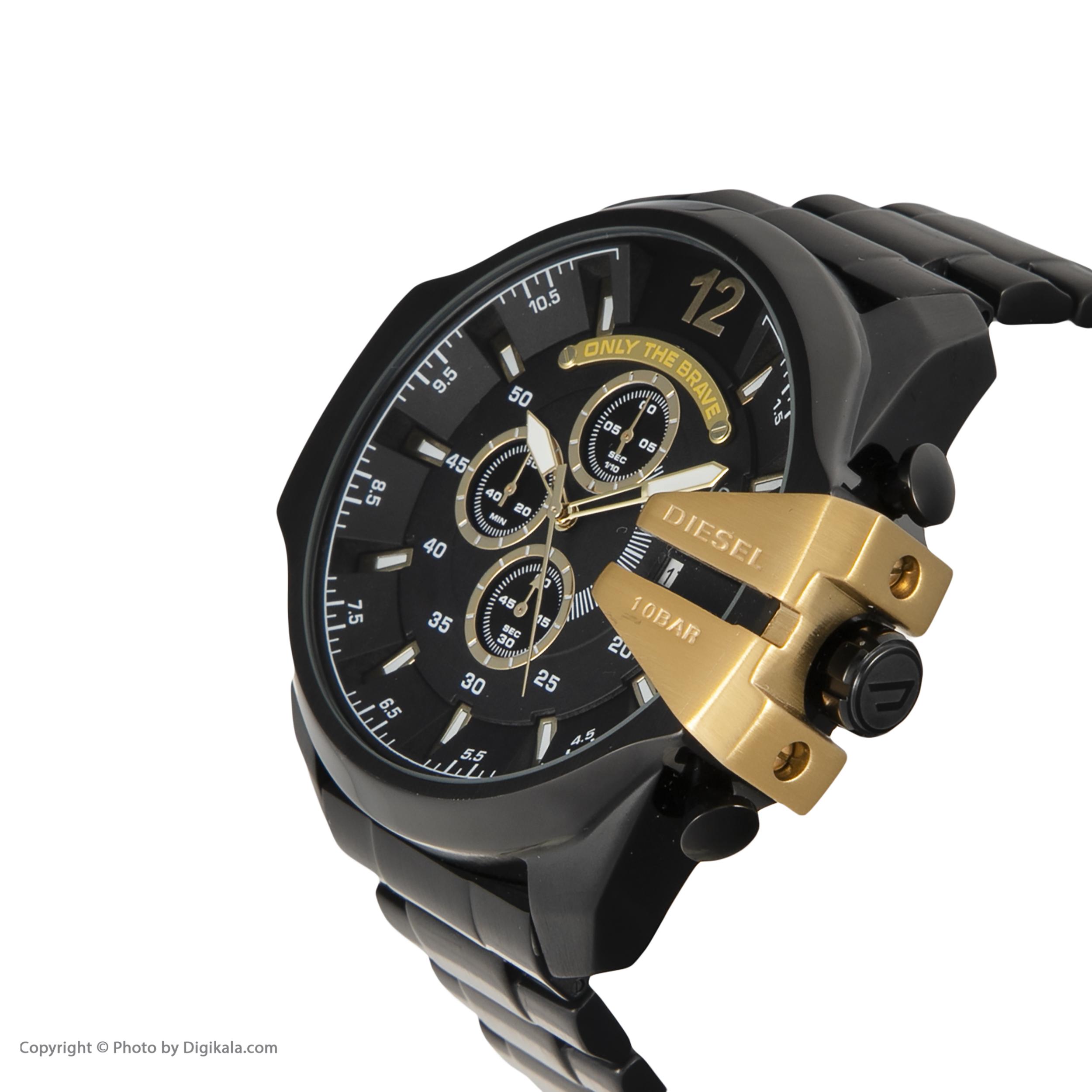 ساعت مچی عقربهای مردانه دیزل مدل DZ4338