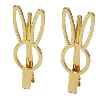 گیره مو زنانه طرح خرگوش  مدل mh-76 بسته 2 عددی