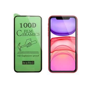 محافظ صفحه نمایش سرامیکی مدل FLCRG01pr مناسب برای گوشی موبایل اپل iPhone  11
