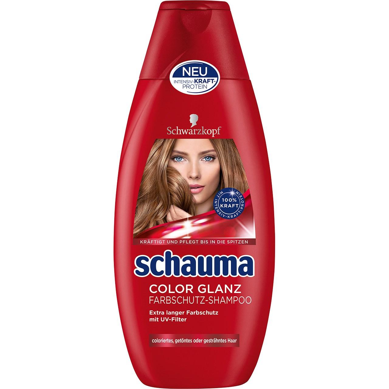 قیمت شامپو تثبیت کننده رنگ مو شوما مدل Color Shine حجم 400 میلی لیتر