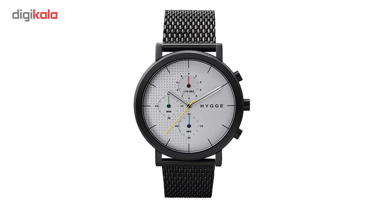 خرید ساعت مچی عقربه ای مردانه هیگه مدل MSM2204BC-CH