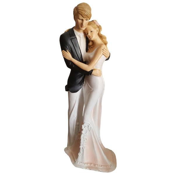 مجسمه لیلپار طرح عروس داماد مدل DKH-7060 R