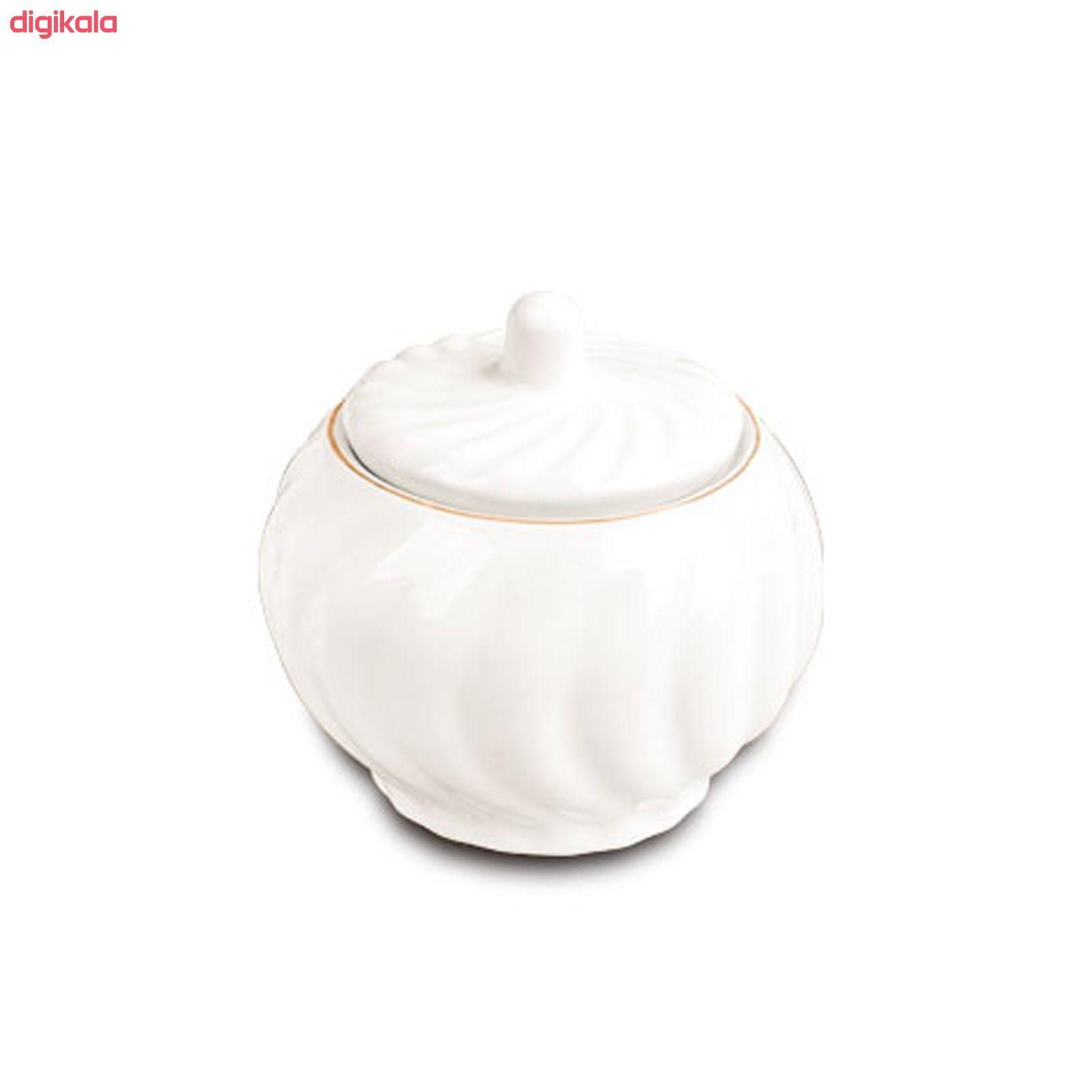 سرویس چای خوری 14 پارچه لمونژ مدل کارمن کد 504 main 1 4