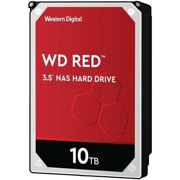 هارددیسک اینترنال وسترن دیجیتال مدل Red WD101EFAX ظرفیت 10 ترابایت