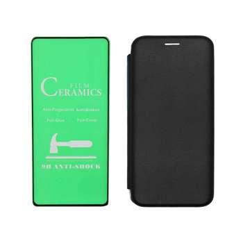 کیف کلاسوریمدل BWGNT-GCER مناسب برای گوشی موبایل سامسونگ GALAXY A50\A50s\A30s به همراه محافظ صفحه نمایش