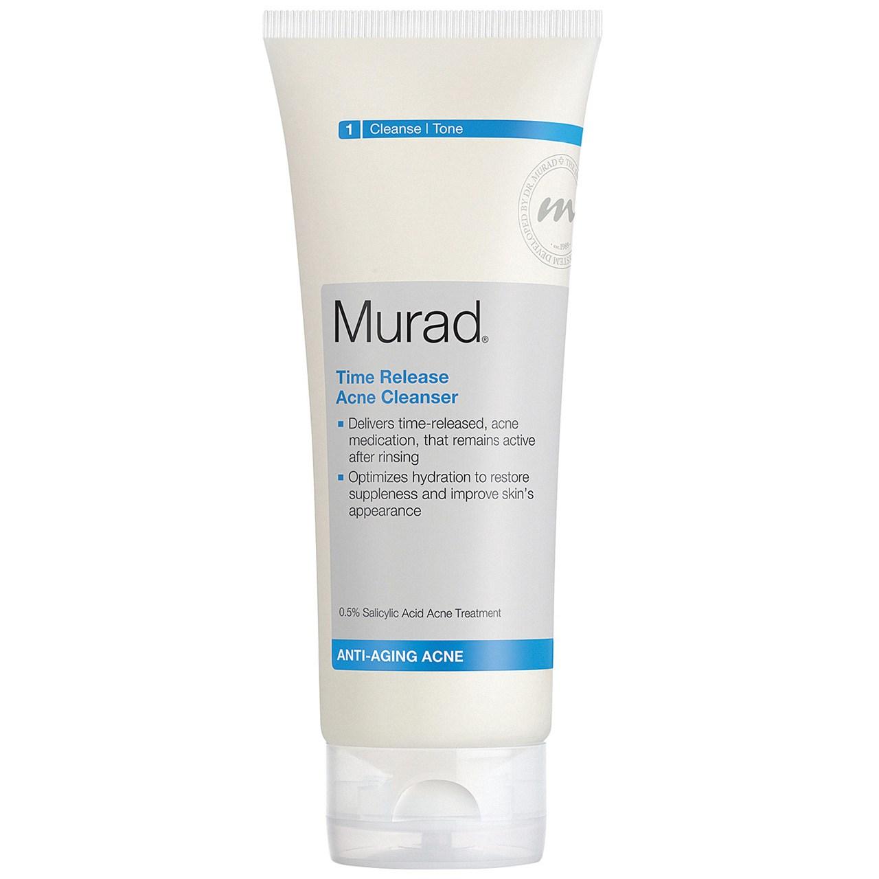 کرم پاک کننده مورد سری Anti Aging Acne Control  مدل Time Release Acne Cleanser حجم 200 میلی لیتر