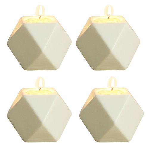 شمعدان دکوریما کد T039 بسته چهار عددی