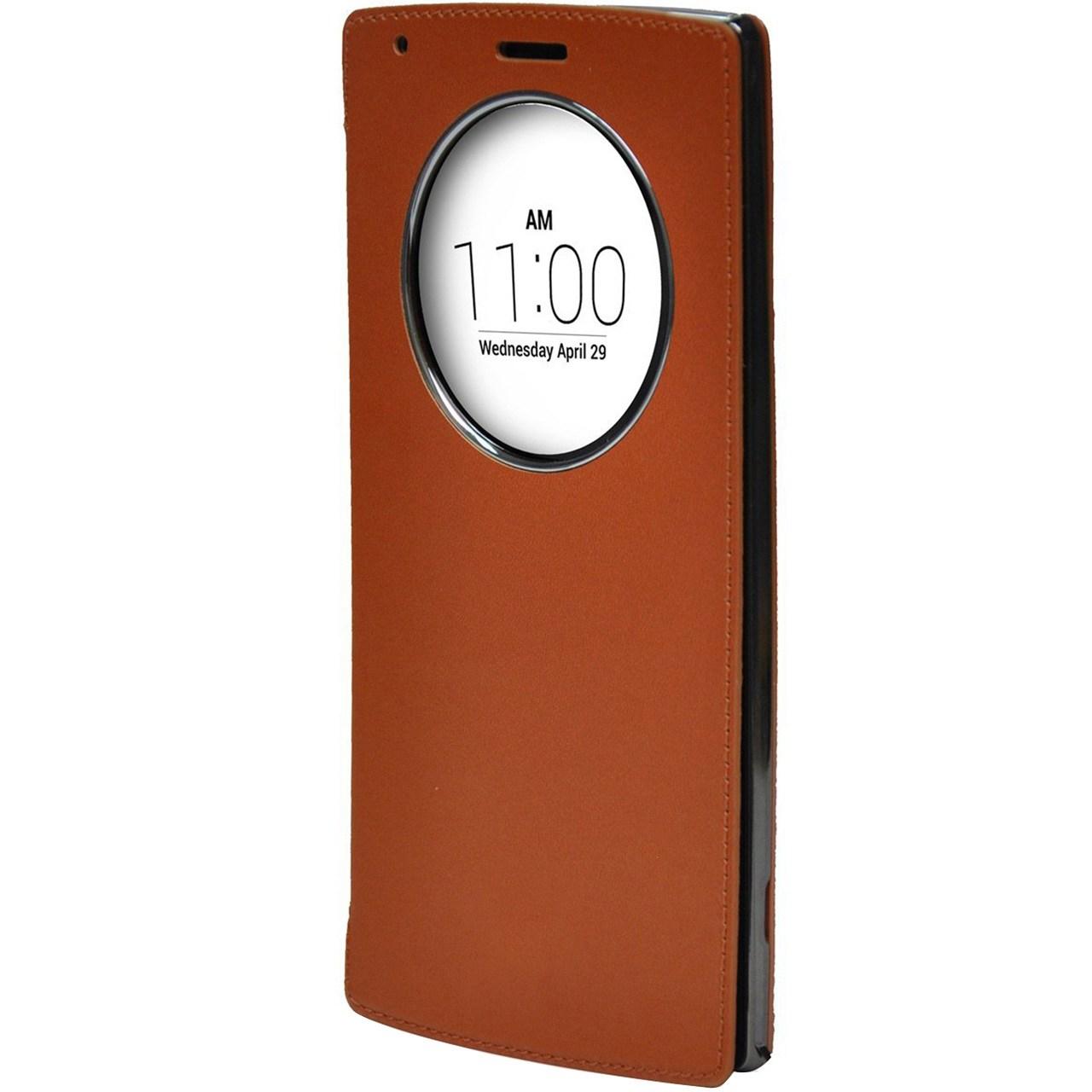 کیف کلاسوری وویا مدل Skin Shield Quick Circle مناسب برای گوشی موبایل ال جی G4 Stylus