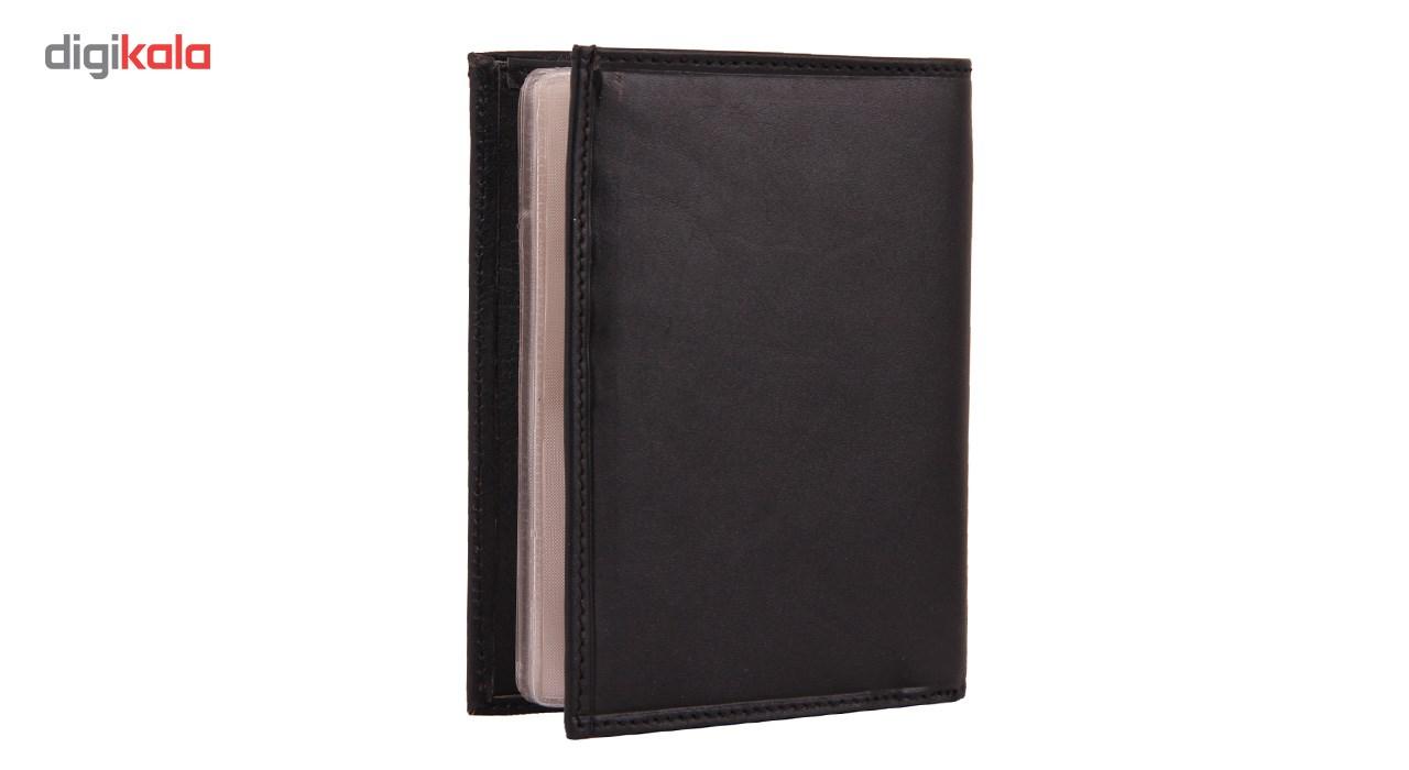 کیف پاسپورت شهر چرم مدل 1-129018
