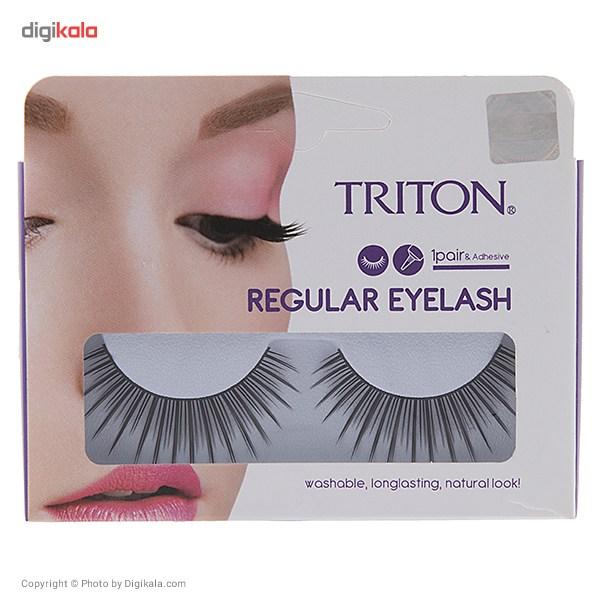 خرید                                      مژه مصنوعی تریتون سری Regular Eyelash مدل Eye-RB11
