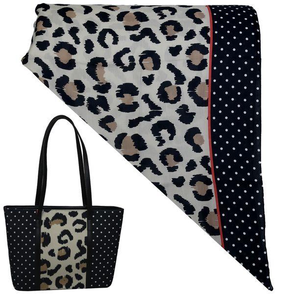 ست کیف و روسری زنانه کد T1-990618