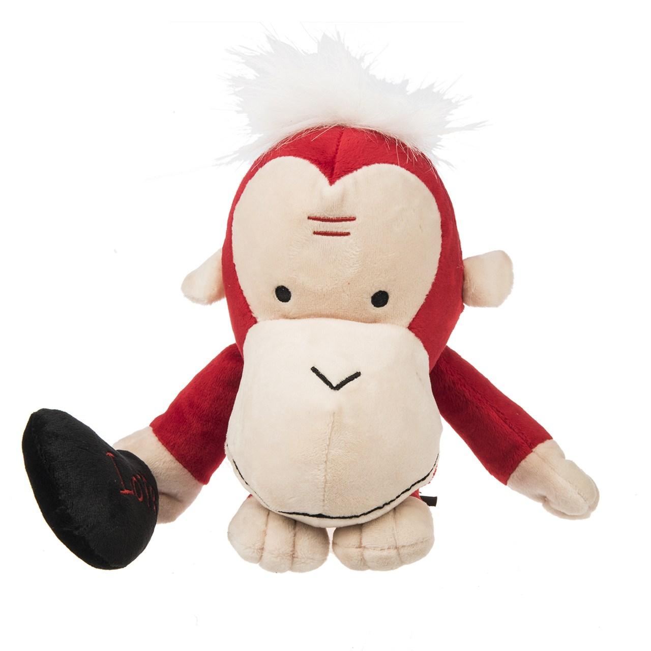 عروسک پالیز مدل Red Monkey طول 35 سانتی متر