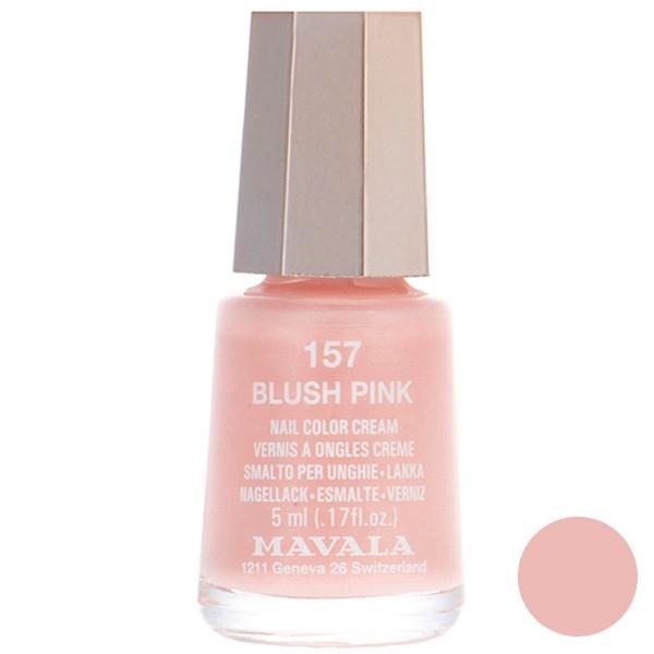 عکس لاک ناخن ماوالا مدل Mini Blush Pink شماره 157