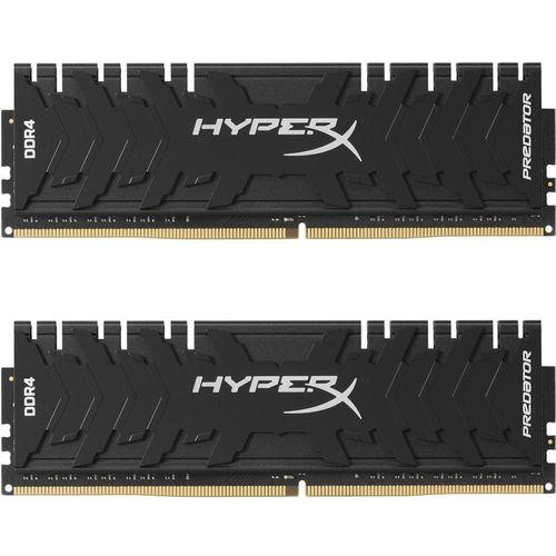 رم دسکتاپ DDR4  دو کاناله 3000 مگاهرتز CL15 کینگستون مدل HyperX Predator ظرفیت 16 گیگابایت