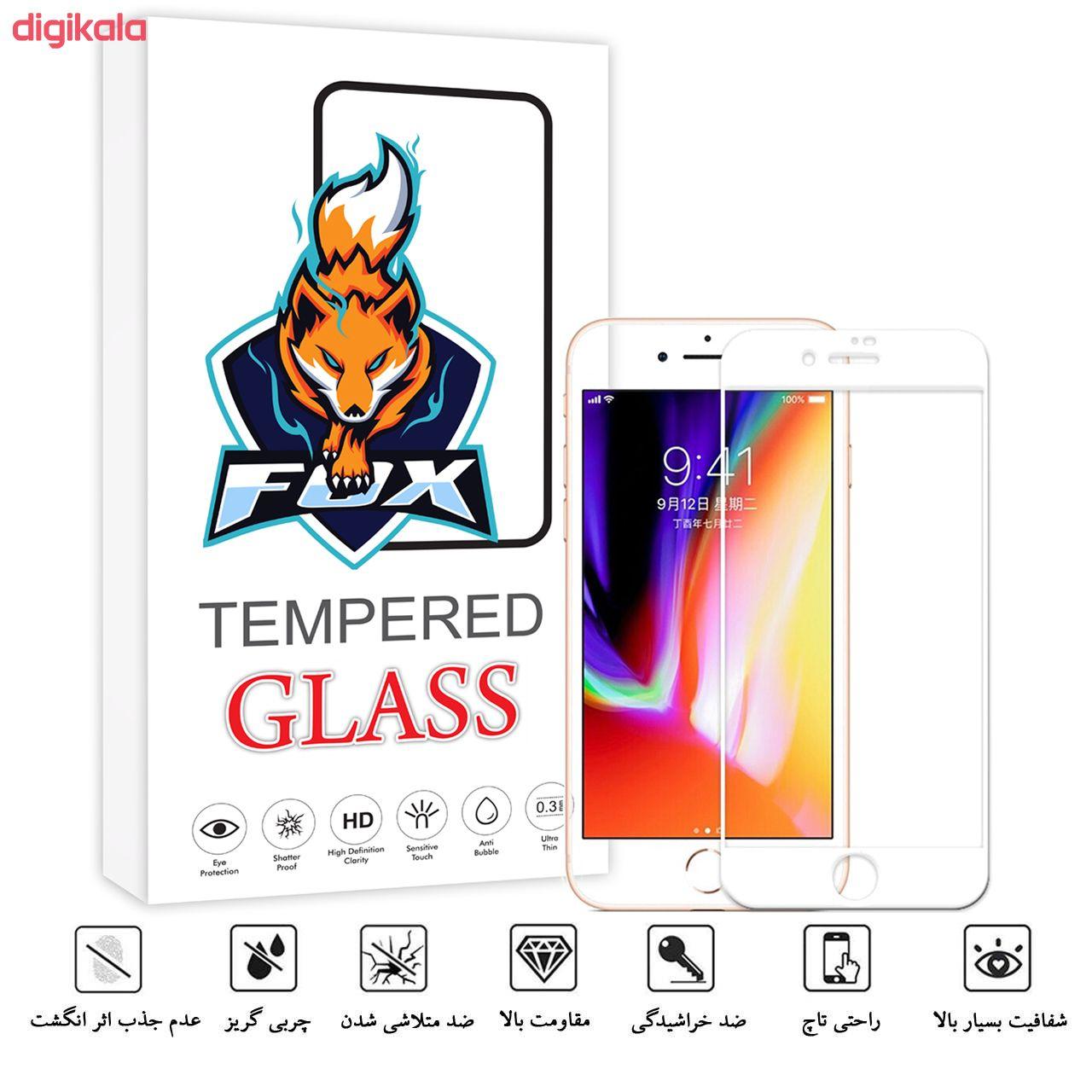 محافظ صفحه نمایش فوکس مدل PT001 مناسب برای گوشی موبایل اپل Iphone 7 Plus/8 Plus main 1 2