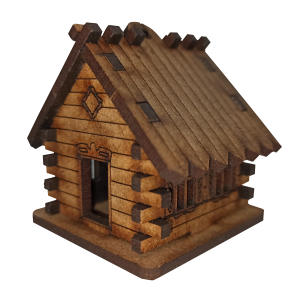 کلبه چوبی مدل جنگل