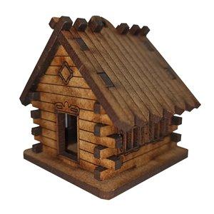 ماکت دکوری مدل کلبه چوبی