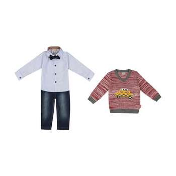 ست 3 تکه لباس پسرانه ببوش مدل 2141199-70