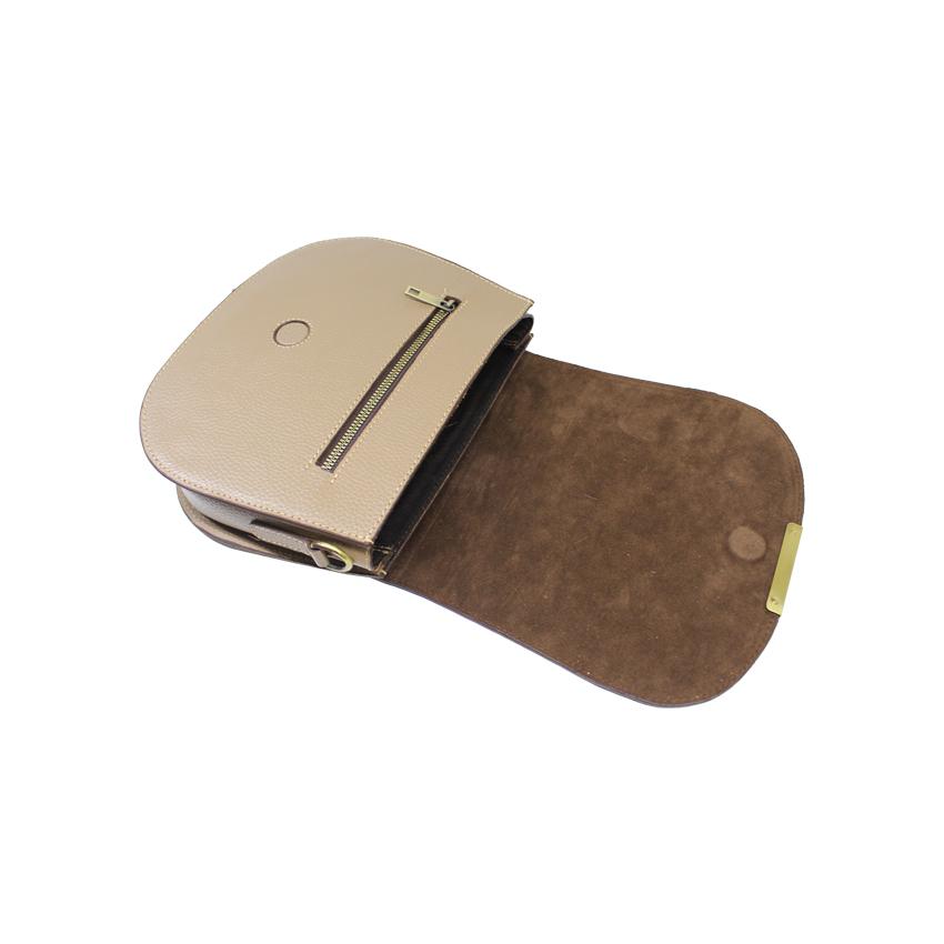 کیف دوشی زنانه چرم آرا مدل d060 -  - 5