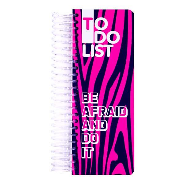 دفتر یادداشت دات نوت مدل To do List - Be Afraid And Do It
