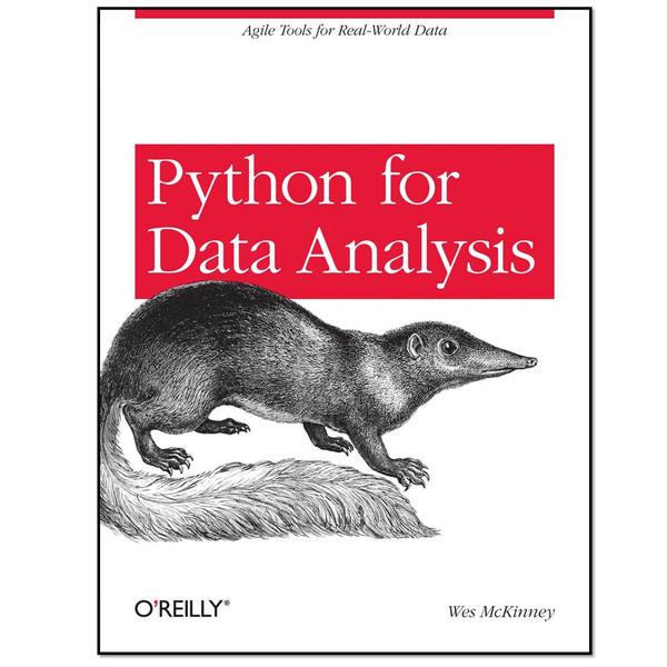 کتاب python for data analysis اثر Wes McKinney انتشارات OReilly