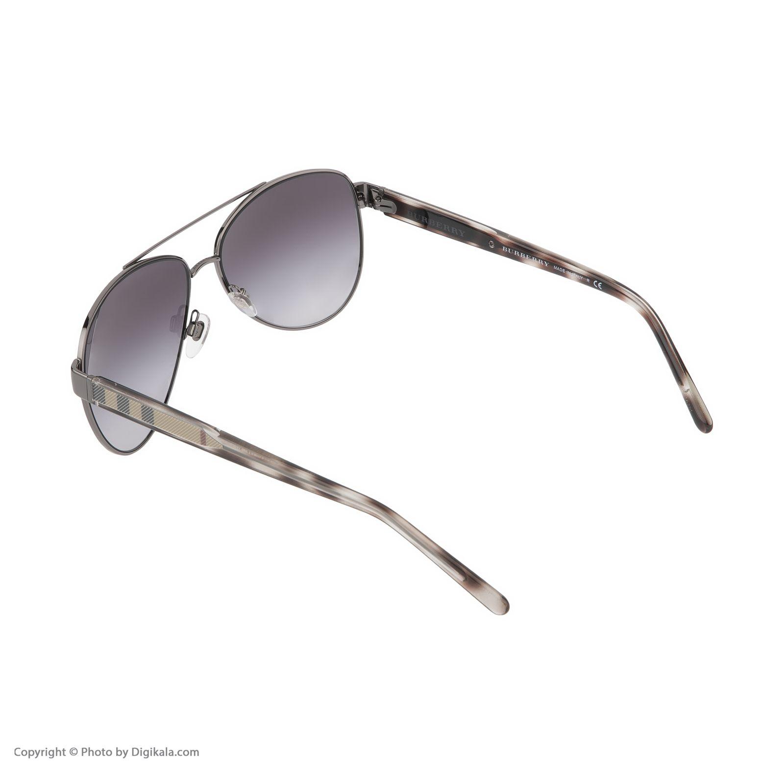 عینک آفتابی زنانه بربری مدل BE 3084S 12278G 60 -  - 5