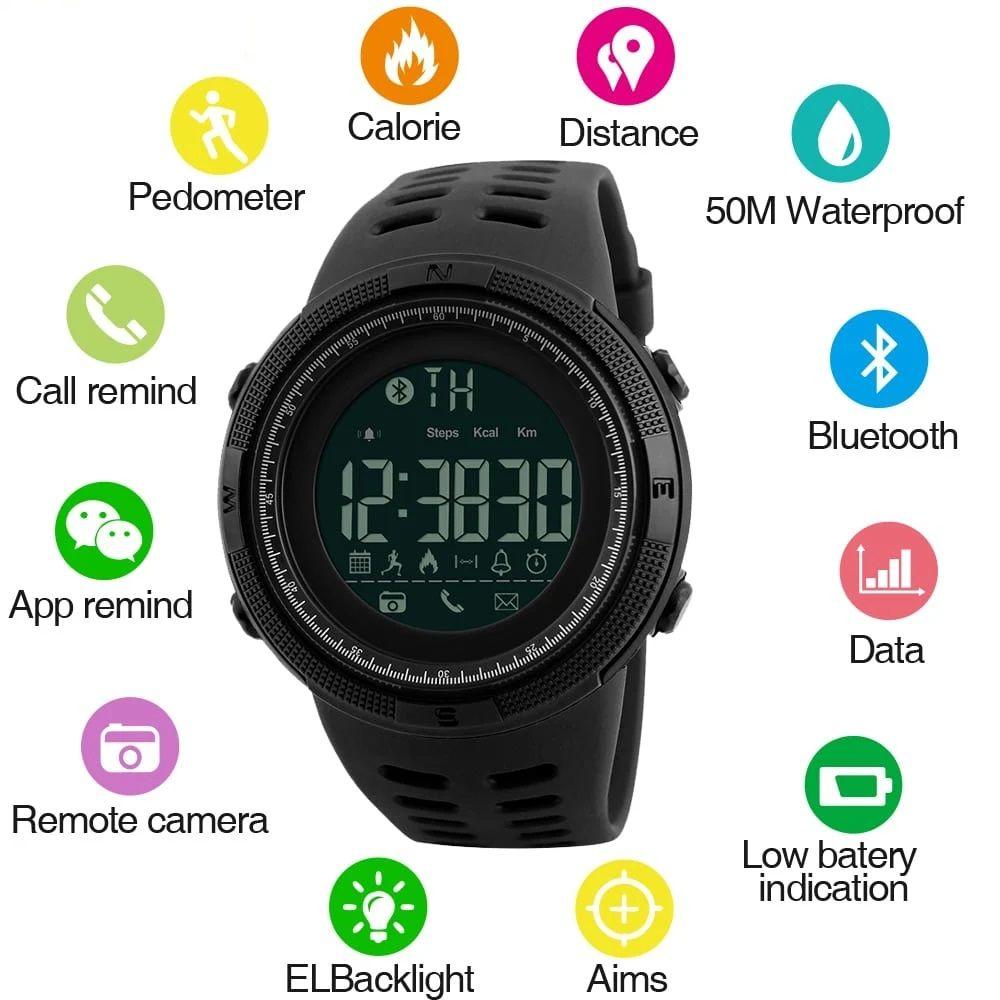 ساعت مچی دیجیتال اسکمی مدل 1250M-NP -  - 6