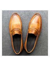 کفش روزمره مردانه چرم آرا مدل sh025  -  - 10